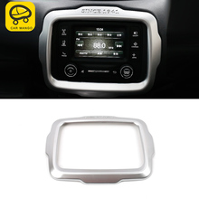 CarManGo for Jeep Renegade 2015 2016 2017 2018 2019 Car GPS Navigation Panel Cover Decoration Trim Sticker Interior Accessories