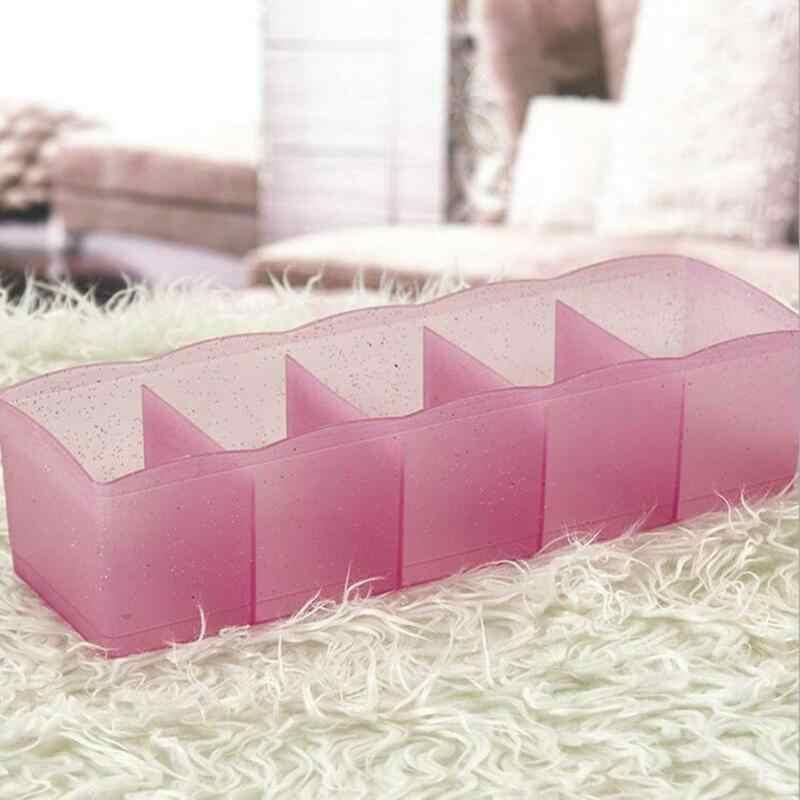 5Grid Organizer Stropdas Sokken Schublade Cosmetische Divider Kunststoff Aufbewahrungsbox