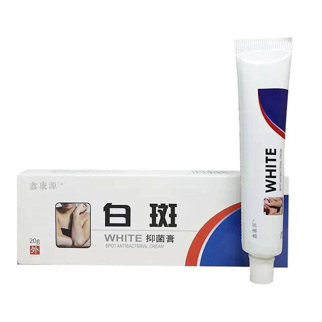 Crema médica china de 20g Para manchas blancas, pigmento de melanina que promueve el tratamiento de la enfermedad de la piel Vitiligo Leukoplakia