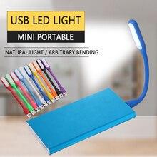 цены на usb light Mini Portable Flexible led light for Book Light Reading Light sport light powered by Power bank Computer Laptop etc  в интернет-магазинах