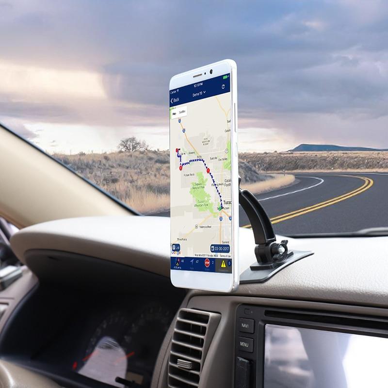 Magnetic Car Phone Holder For IPhone X 8 7 XR Car Universal Adjustable Foldable Desk Stand Paste Mount Smartphone Holder TSLM1