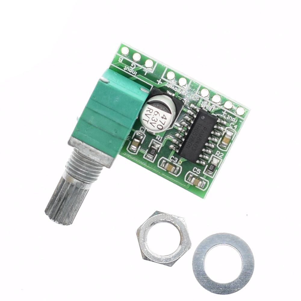 PAM8403 5V Power Audio Amplifier Board 2 Channel 3W Volume Control / USB Power
