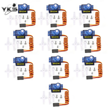 5pcs/10pcs DXW 90 9G Mini Micro Servo Motor Horns for SG90 RC Robot Arm Helicopter