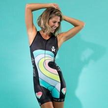 Велосипедная майка для триатлона Бетти одежда плавания без рукавов