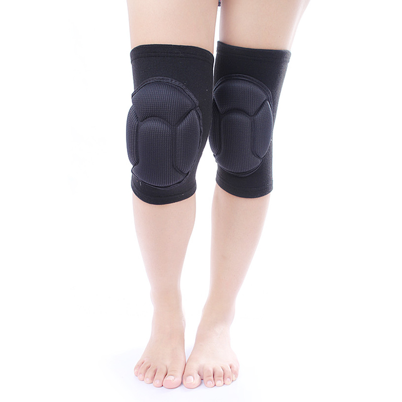 1 Pair Thick Kneepad Extreme Knee Pad Eblow Brace Support Lap Knee Protector For Football Volleyball Cycling Sports S55