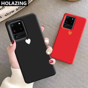 Silicone-Cases 8-Cover Ultra-Note Samsung Galaxy S10 10-Plus for S8 10-9/8-cover/Couple/Heart