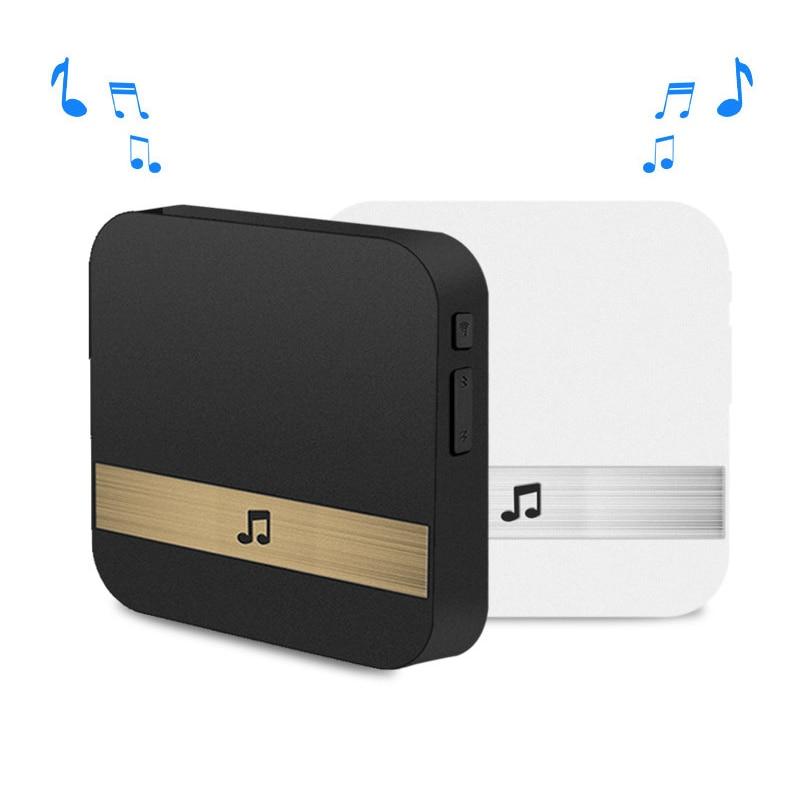 1Pcs AC90-250V Smart Indoor Doorbell Wireless WiFi Door Bell US EU UK AU Plug App Control For EKEN V5 V6 V7 M3