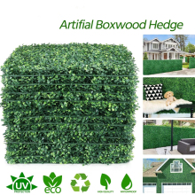 10/15/20pcs Boxwood Hedge Panels, Artificial Plants Privacy Fence Screen Faux Greenery Wall Backdrop Suitable for Outdoor Indoor