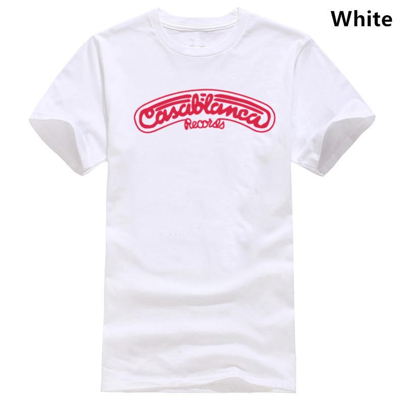 Casablanca Records T-Shirt 100/% Cotton Kiss Disco Cher Village People