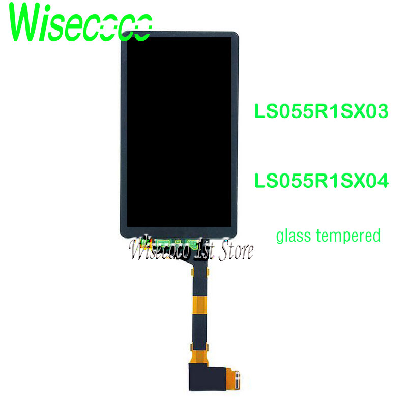 Pour Elegoo mars Photon 3D imprimante lcd Sharp04 LS055R1SX04 avec protecteur de verre MIPI à Sharp03 2K 5.5 pouces SX04 LCD panneau de résine