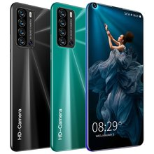 Galxy V19 pro Cellphones 6.8 HD screen MTK6580 2+32GB ROM Dual SIM SmartPhones 5+12MP Camera 5600mAh Android Mobile Phone