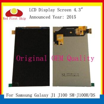10Pcs/lot ORIGINAL For Samsung Galaxy J1 J100 SM-J100H/DS LCD Display Screen Monitor Module J1 LCD Replacement Parts