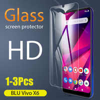 1-3 uds., vidrio templado completo para BLU Vivo X6, Protector de pantalla 2.5D 9h, vidrio templado BLU Vivo X6, película protectora