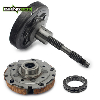 BIKINGBOY Clutch Carrier Shoe Pad Assy + Clutch Cover Housing + Bearing For Arctic Cat 350 400 425 450 500 KYMCO MXU400