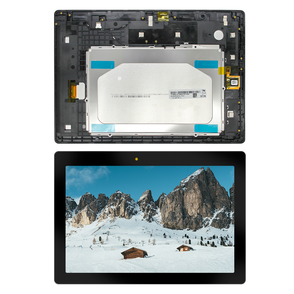 For Lenovo Tab 2 A10-30 YT3-X30 X30F TB2-X30F TB2-X30L A6500 Display Panel LCD Combo Touch Screen Glass Sensor Replacement Parts