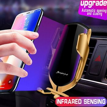 Automatic Clamping Wireless Car Charger  1
