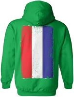 TSDFC Distressed Netherlands Flag Dutch Heritage Unisex Hoodie Sweatshirtunisex men women hoodie