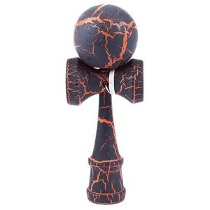 Полный треск деревянный шар Kendama образование традиционная игра игрушка новая