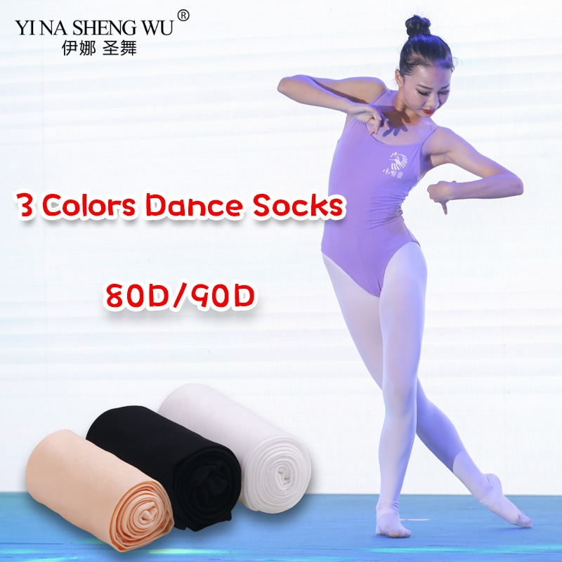 Children Girls Ballet Dance Tights Kids Adult Nylon Leggings Gymnastics Dance Tutu Ballet Pantyhose 80D 3 Pairs 2 Pairs 1 Pair