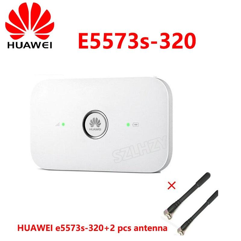 Unlocked HUAWEI E5573s-320/E5573bs-320 4G LTE 150mbps Mobile Wireless Router Hotspot Pocket MIFI Car WiFi PK ZTE MF927U WD670