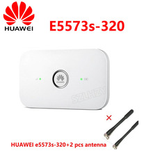US $34.0 |Unlocked HUAWEI E5573s 320/E5573bs 320 4G LTE 150mbps Mobile Wireless Router Hotspot Pocket MIFI Car WiFi PK ZTE MF927U WD670 on AliExpress