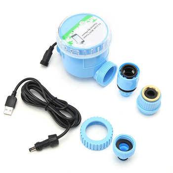 Inteligentne nawadnianie ogrodu automatyczny sterownik kroplówki z telefonem sterowanie przez WIFI do ogrodu tanie i dobre opinie Other