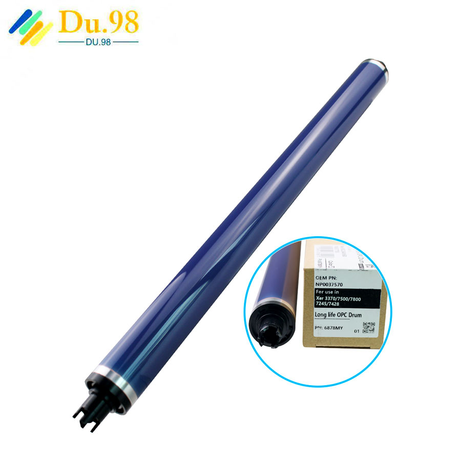 DC3370 Japan fuji Opc Drum FOR <font><b>XEROX</b></font> 2270 <font><b>5570</b></font> 3360 7855 Purple Color Opc Drum 7835 7845 7855 Color Machines Opc Drum Spare Part image