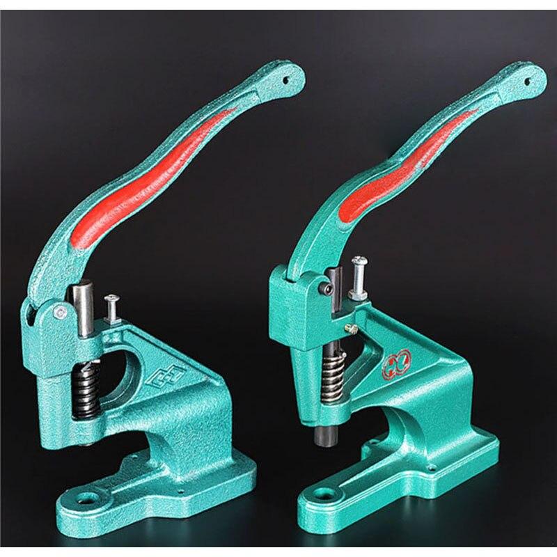 KAM Manuelle DK93 Hand Drücken Maschine Tülle Ösen Druckknopf Formen Installieren Maschine Hand Punch Werkzeug