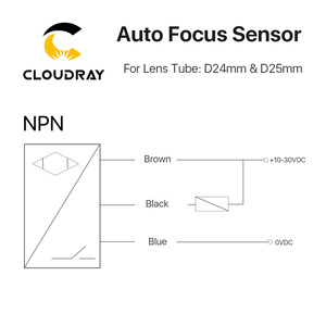 Image 5 - Cloudray Auto Focus Focusing Sensor Z Axis for Automatic Motorized Up Down Table CO2 Laser Engraving Cutting machine