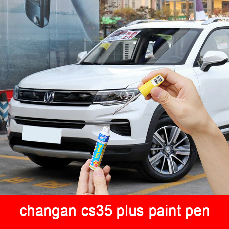 Car Remover Scratch Repair Painting Pens Clear For Changan Cs35 Plus 2020 Or 2019 Red Color