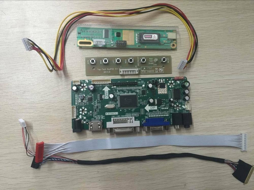 VGA DVI Kit For LTN154X3-L06 HDMI Audio LCD LVDS Controller Driver Board