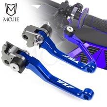 Para yamaha yzf 250 426 450 yz250f yz426f yz450f cnc pivot alavancas de freio embreagem da motocicleta bicicleta sujeira motocross