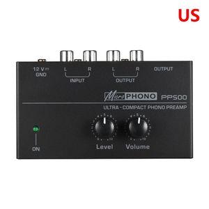 Image 3 - 2021 nouveau préamplificateur de préampli Phono PP500 avec contrôle du Volume de niveau pour platine vinyle LP