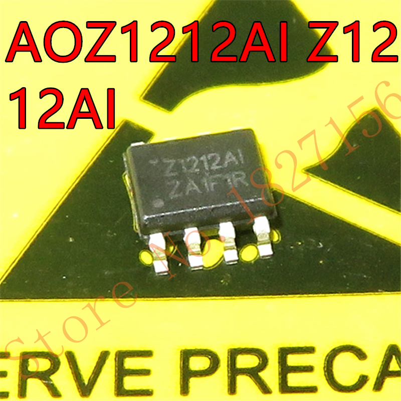 5PCS  AOZ1212AI  EZBucK 3A Simple Buck Regulator  SO8  AOS