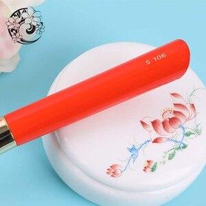 Image 4 - Контурная кисть из козьего волоса, косметические кисти для макияжа Pinceaux Maquillage Brochas Maquillajes S106W