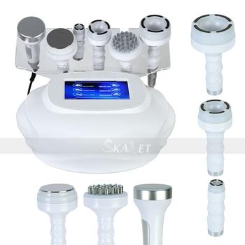 Ultrasonic 80K Cavitation Radio Frequency RF Vacuum Wrinkle Removal Skin Care Massager Slimming Machine