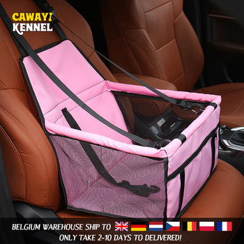 Travel Dog Car Seat Cover Folding Hammock Pet Carriers  2