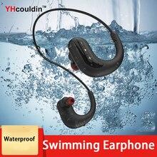 ipx 8 Waterproof Earphones Swimming Sweatproof Sport Gym Wireless Bluetooth With Microphone