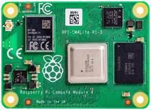 Cm4001000 raspberry pi módulo 4 lite, com 1gb de ram, não com wi-fi, bcm2711, braço Cortex-A72