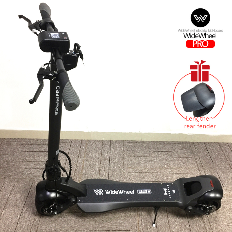 2020 Original Latest Mercane WideWheel Pro Kickscooter 1000W 40Km/h Smart Electric Scooter Dual Motor Disc Brake Hoverboard