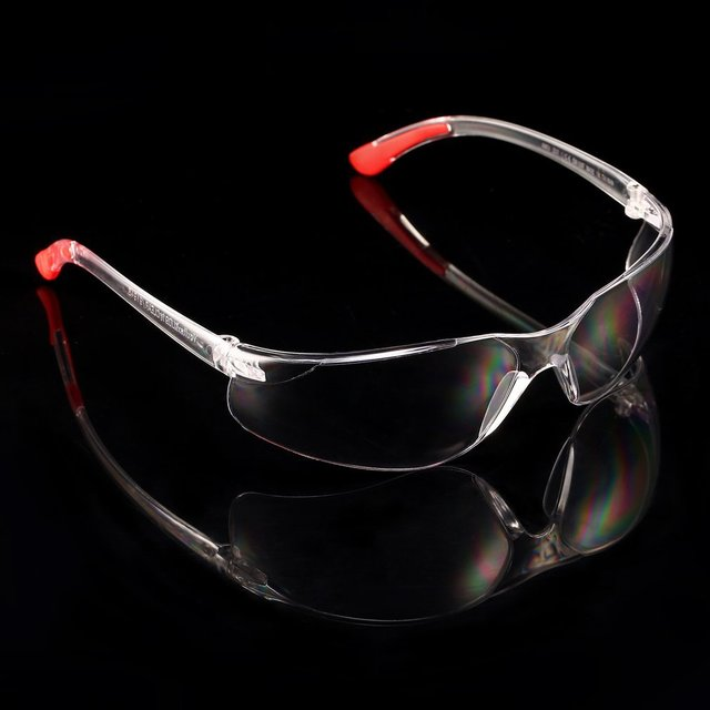Bicicleta de segurança óculos de proteção transparente para ciclismo proteção do trabalho óculos de segurança soldador 6
