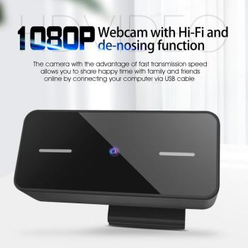 1080P HD Webcam USB HD Auto Focus PC Camera Dual Microphone MIC for Skype for Android TV Computer Camera USB Web Cam coforcare 1080p hd webcam usb hd pc camera dual microphone mic for skype for android tv computer ip camera usb web cam