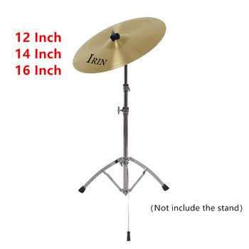 IRIN 12 Inch 14 Inch 16 Inch Professional Brass Alloy Crash Ride Hi-Hat Cymbal Drum Sets for Percussion Instruments musical instrument 16 crash cymbal