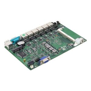 Image 5 - BEBEPC Mini PC industriel Windows 10/Linux Intel Core i3 7100u/3855U/Celeron 3955U, 6x LAN, ordinateur pour routeur/pare feu Pfsense
