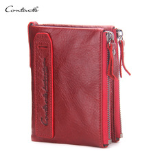 High quality brand Coin Bag Zipper Wallet Women Genuine Leather Wallets Purse Fashion Short Purse With Credit Card Holder цена 2017