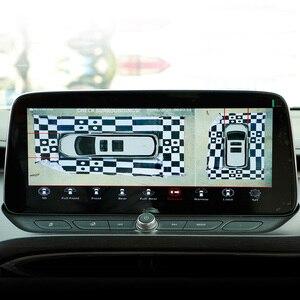 Image 5 - 파노라마 서라운드 DVR 조감도 시스템 360 학위 자동차 카메라 시스템 3D 키잉 패브릭 보정 천