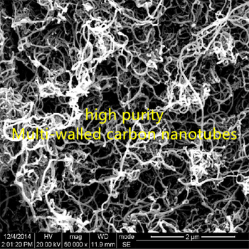 Unfunctionalized / hydroxylated / carboxylated / high-purity multi-walled carbon nanotubes / diameter 5-15nm