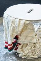 Justin Neue Stil Gestrickte Decke Garn Gestrickte Baumwolle Und Acryl Gemischt Nickerchen Decke Hause Weichen Dekoration-in Decken aus Heim und Garten bei