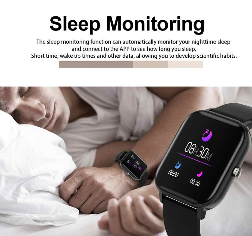2019 חדש 1.4 אינץ חכם שעון גברים מלא מגע גשש כושר דם לחץ Smartwatch נשים GTS Smartwatch עבור IPhone/ xiaomi