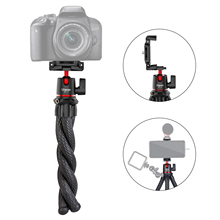 Ulanzi MT 11 Flexible Octopus Tripod for DSLR Smartphone 2 in 1 Tripod Extend 1/4 Screw for LED Video Light Live Streaming